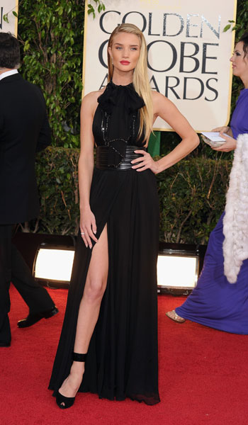 Rosie Huntington Whitely in Yves Saint Laurent