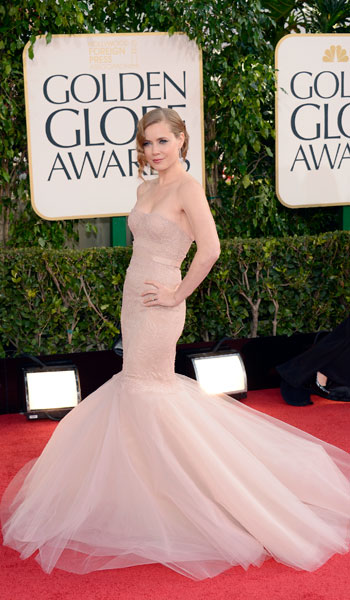 Amy Adams in Marchesa ....Love the dress - But she's just too pale.