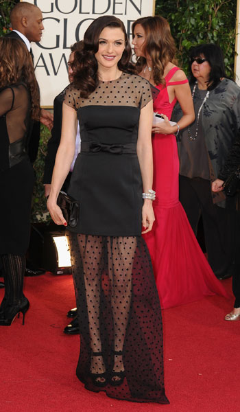 Rachel Weisz in Louis Vuitton Oh Rachel. I had such high hopes for you...