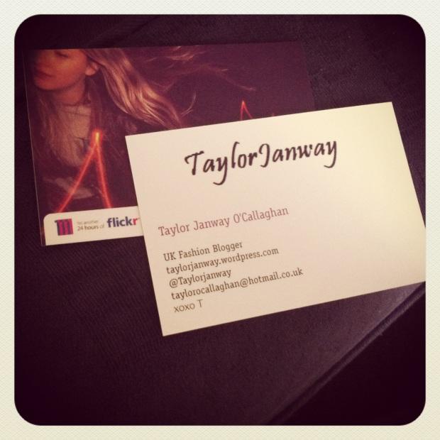 TaylorJanway Business Card