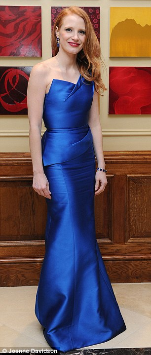 Jessica Chastain, BAFTAs 2013