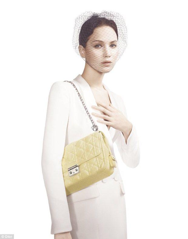 Jennifer Lawrence Miss Dior 2013