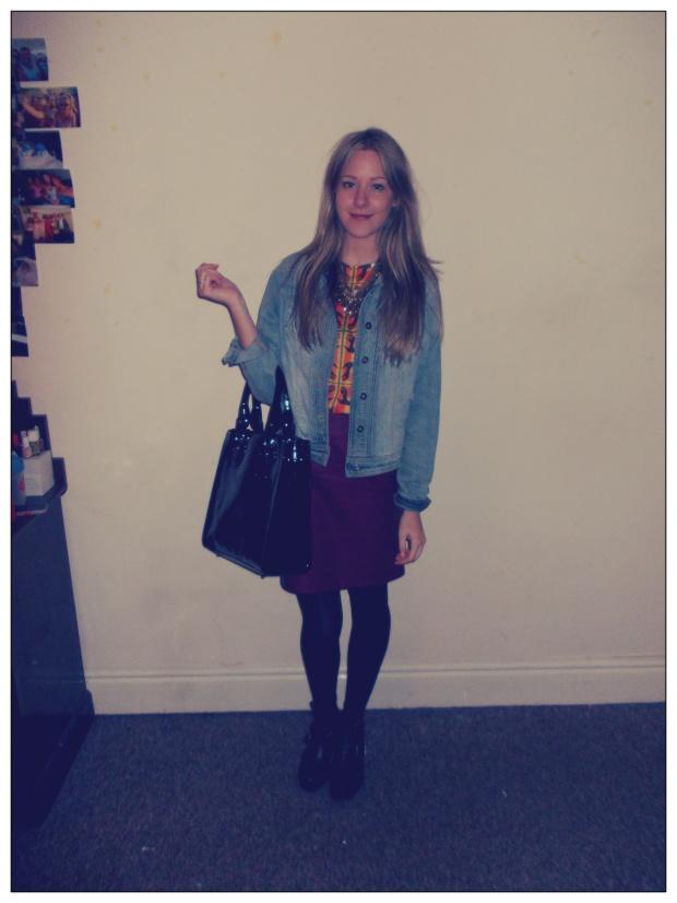 TaylorJanway What I'm Wearing Feb 2013