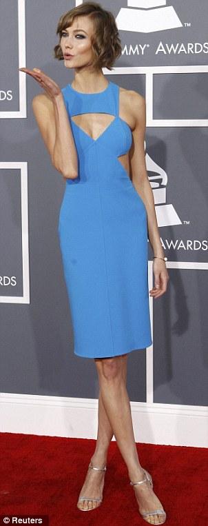Karlie Kloss Grammys 2013