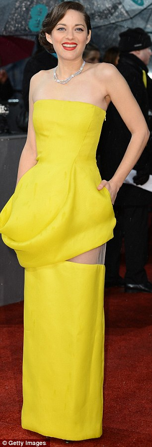 Marion Coltillard BAFTAs 2013