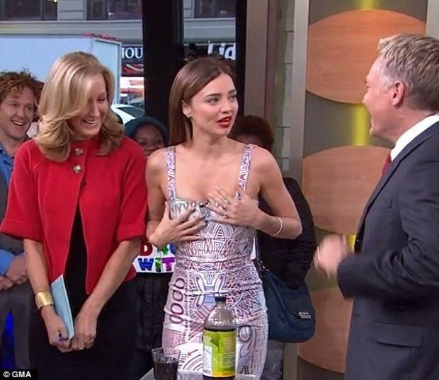 Miranda Kerr Good Morning America 2013