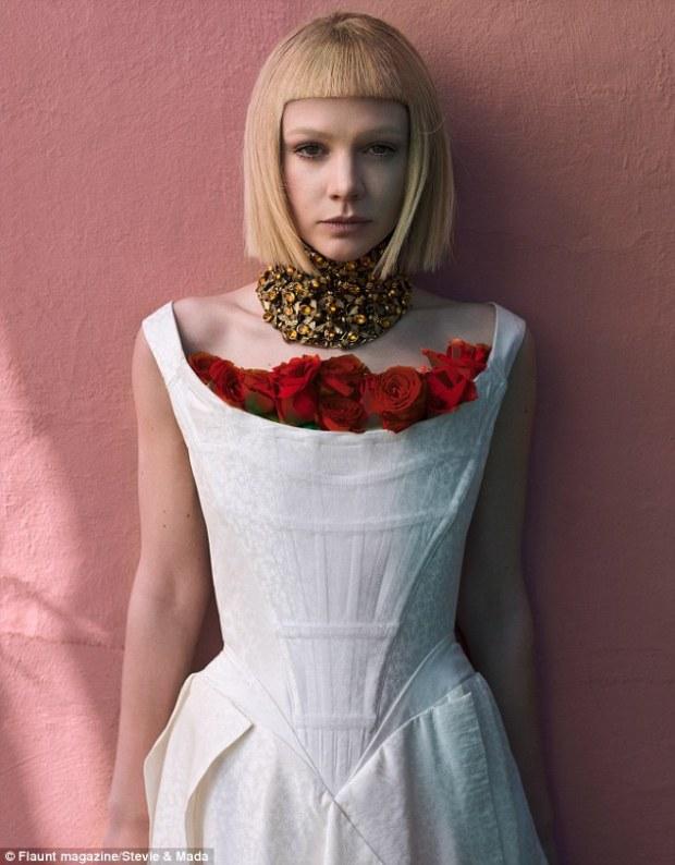 Carey Mulligan for Flaunt Magazine
